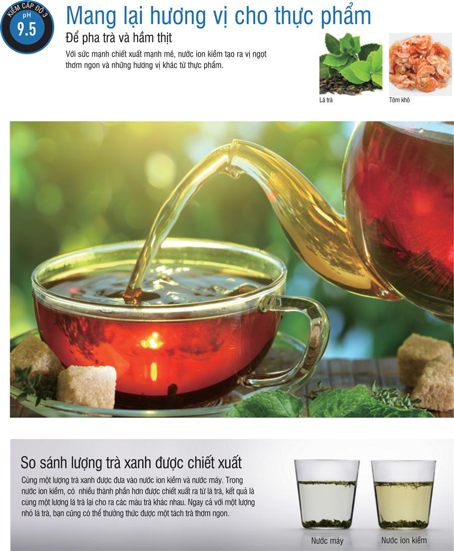 Nước điện giải giúp món ăn ngon hơn và đậm đà hơn