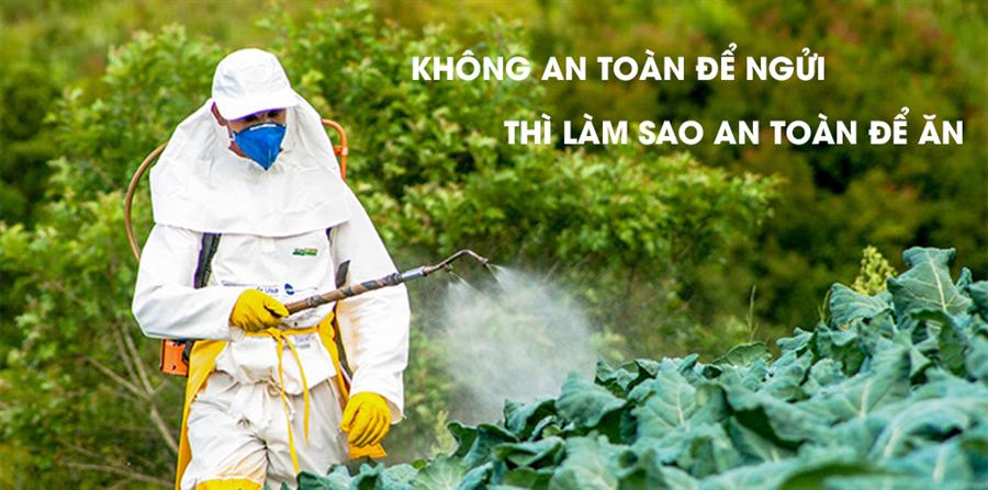 Nước ion kiềm mạnh bóc tách thuốc trừ sâu trong rau củ